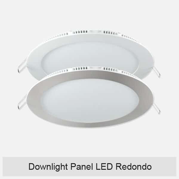 Downlight Panel LED Redondo