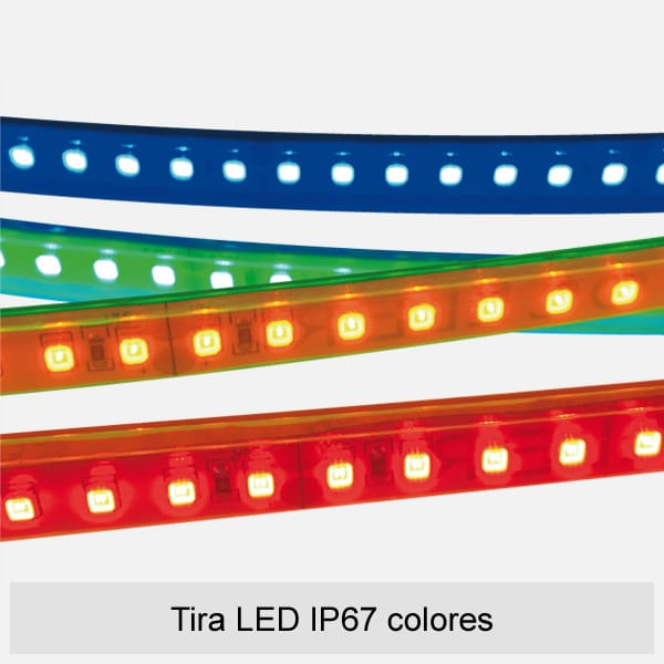 tira led ip67 colores celer