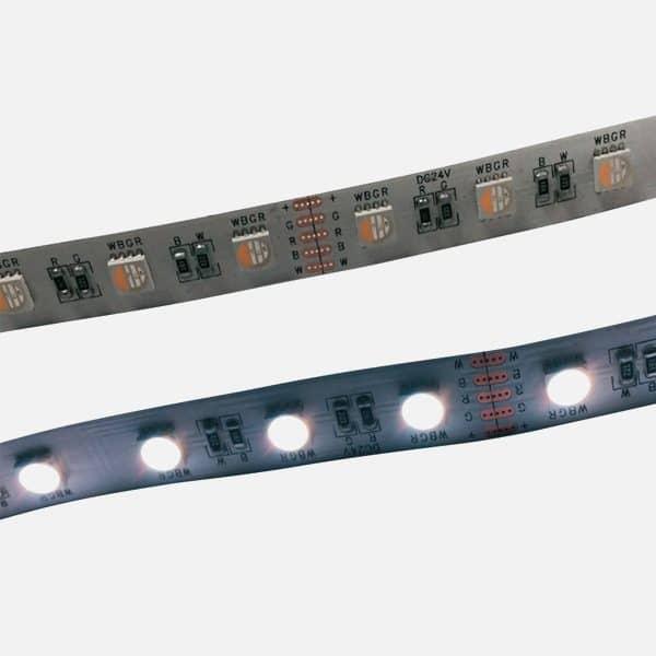 Tira LED al corte RGB+Blanco