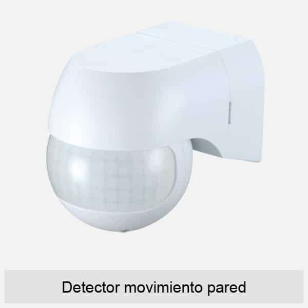 Detector movimiento pared