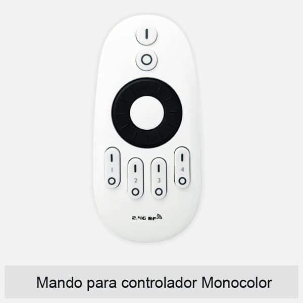 Mando controlador monocolor