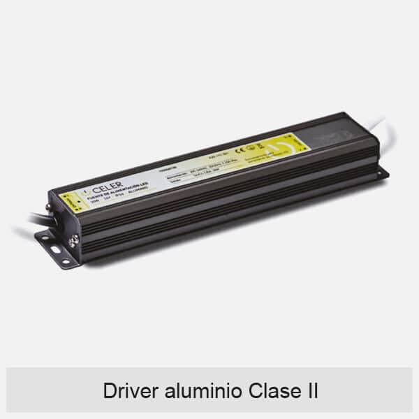 driver alumnio clase II