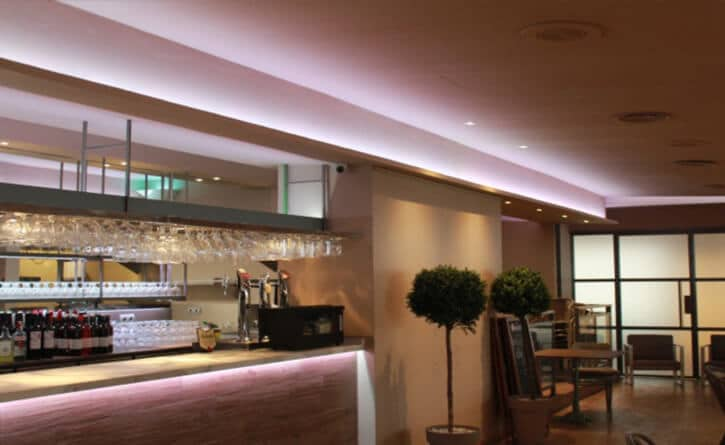 Iluminacion Restaurante Portofino Salou