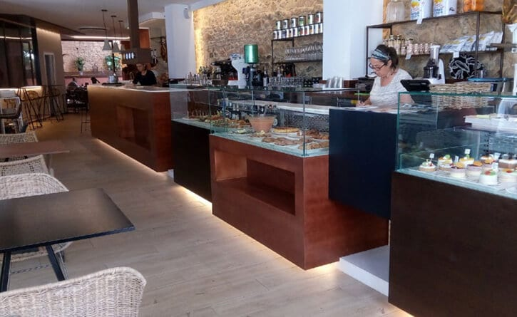 Lamparas Restaurante en Tossa de Mar