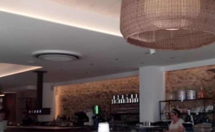 Lamparas LED Restaurante en Tossa de Mar
