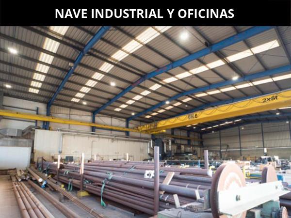Nave Industrial Oficinas