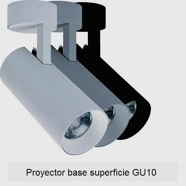 Proyector-base Superficie-GU10
