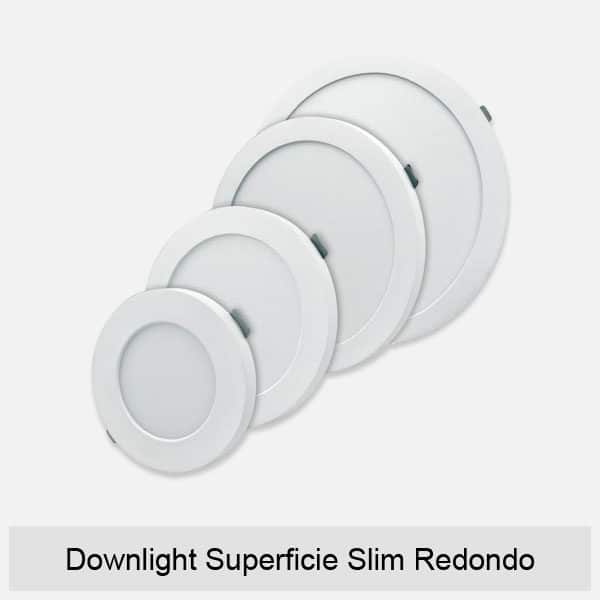 Downlight Superficie Slim Redondo