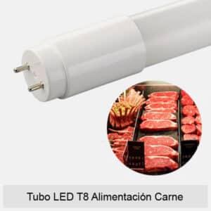 Tubo LED T8 Alimentación Carne