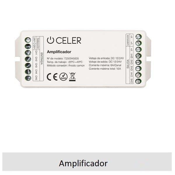 Amplificador tiras led