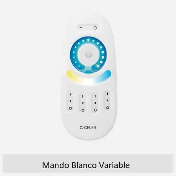 Mando controlador blanco variable
