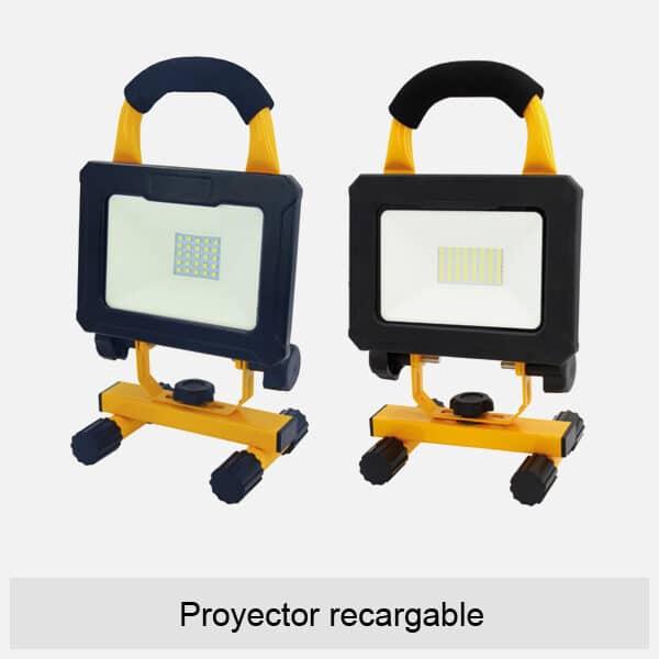 Proyector recargable