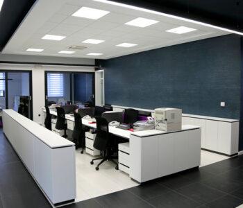 Una correcta iluminación mejora la productividad