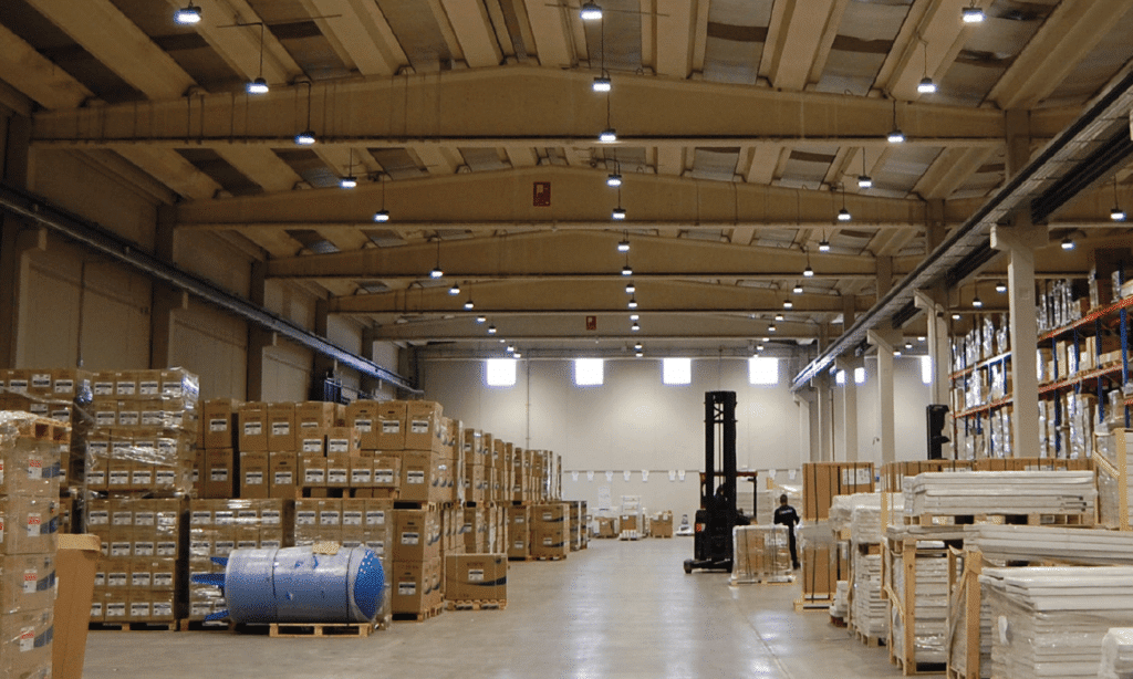 iluminacion led almacen