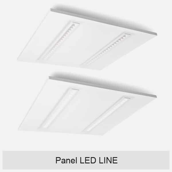 Panel LED LINE