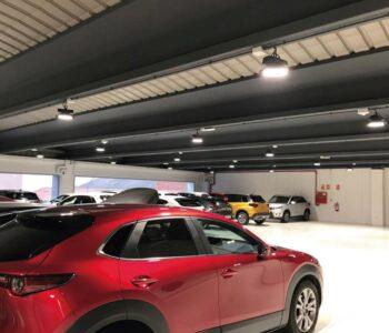 Iluminación de concesionario de vehículos: Suzuki/Mazda Sabadell
