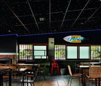Iluminación de restaurantes: Restaurante Maloka