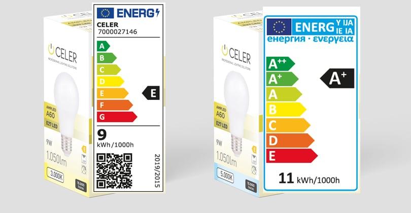 nuevo etiquetado energetico celer